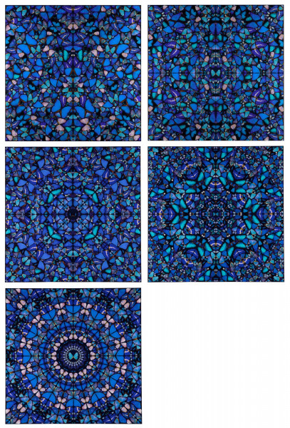 Damien Hirst. The Aspects. H6 1-5, 2019 (COMPLETE SET)