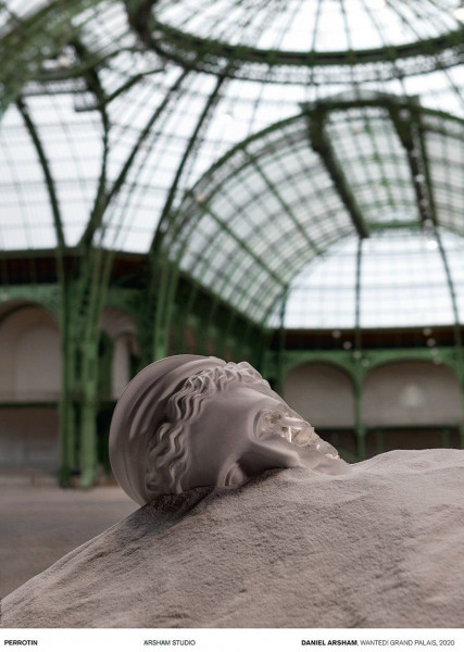 Daniel Arsham. Wanted! Grand Palais 2020