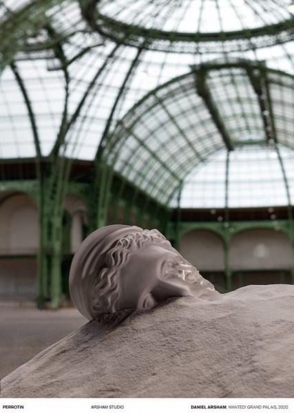 Daniel Arsham. Wanted! Grand Palais 2020