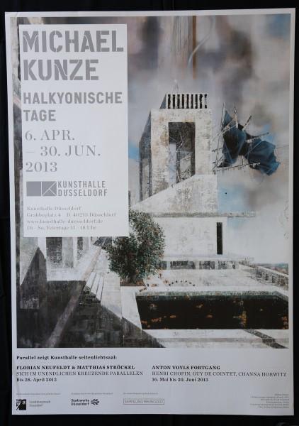 Michael Kunze. Halkyonische Tage, 2013. Plakat