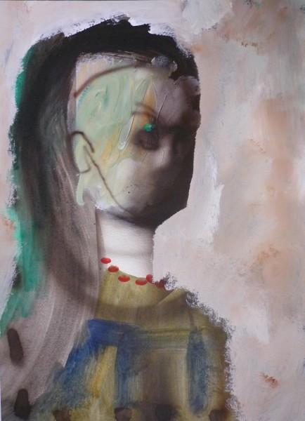 Julius Hofmann. Originalzeichnung Ernte des Lebens, 2011