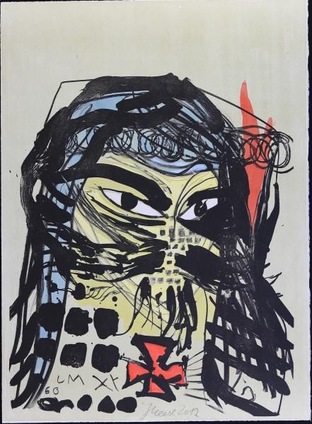 Jonathan Meese. Heilbuttn`s der Kunst (Formzucki) , 2012