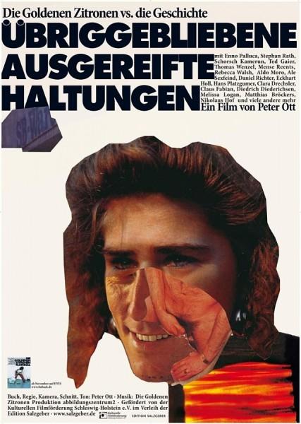Daniel Richter. ÜBRIGGEBLIEBENE AUSGEREIFTE HALTUNG , Poster