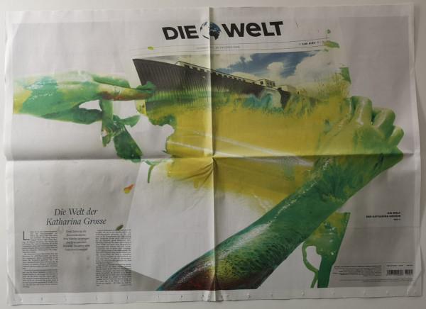 Katharina Grosse. Die Welt. Künstlerausgabe, 29.10.2020