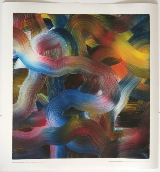 Gerhard Richter. Abstraktion, Ausstellungplakat, 2018 (Rot-Blau-Gelb)