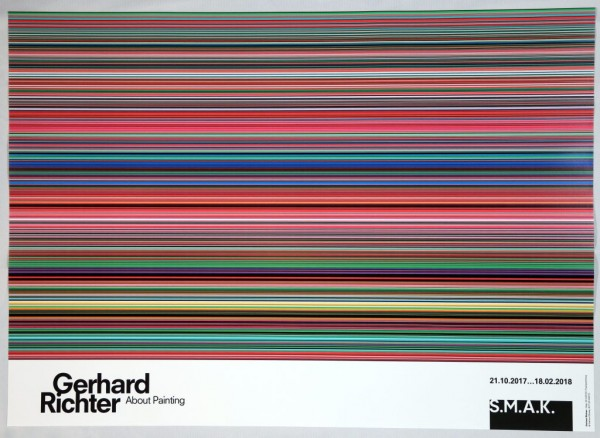 Gerhard Richter. Stripes Plakat SMAK Gent, 2017-Copy-Copy