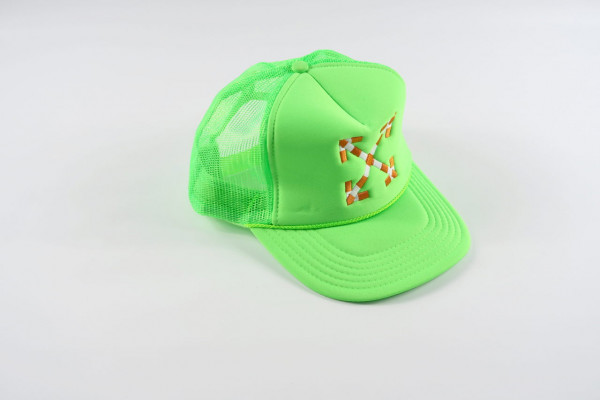 Virgil Abloh MCA Double Arrow Hat - Green, 2019