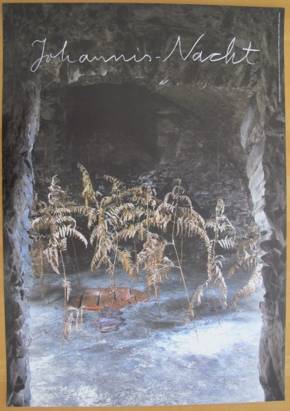 Anselm Kiefer. Johannis-Nacht,2014. Plakat (ohne Text)