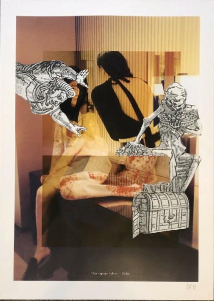Daniel Richter. ohne Titel, 2019 (E 554)
