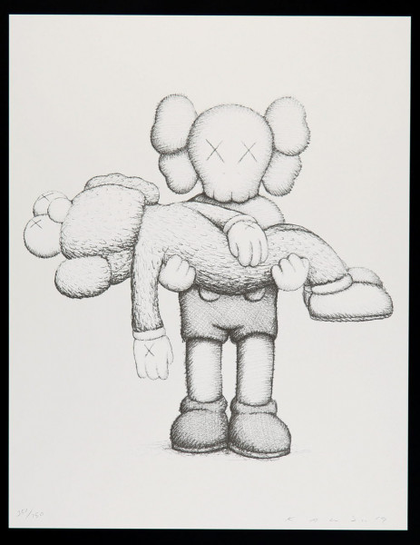 KAWS Limited Edition Art Book With Screenprint, 2019