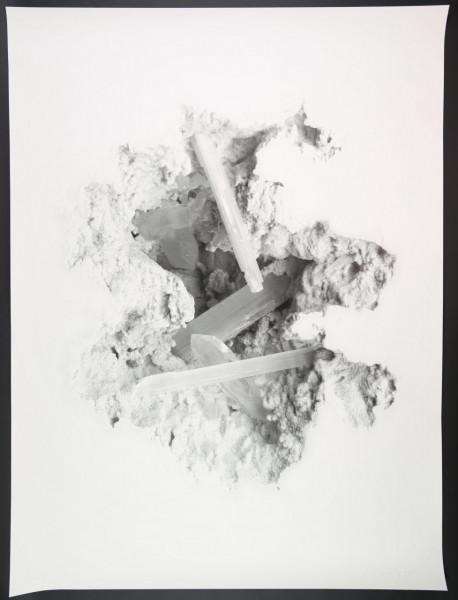 Daniel Arsham - Selenite Erosion Wallpaper