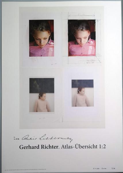 Gerhard Richter. Edition Ella, (Im Atelier Liebermann),2020 signiert WEISS