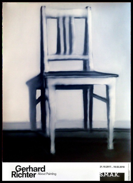 Gerhard Richter. Plakat Stuhl. Ghent 2017