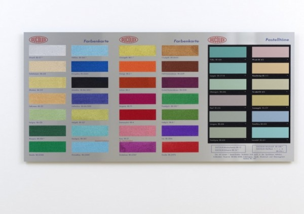 Damien Hirst. COLOUR CHART (GLITTER), 2017