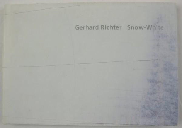 Gerhard Richter. Snow-White. Buch, signiert