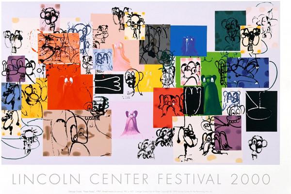 George Condo. Lincoln Center (Paper Faces), 2000