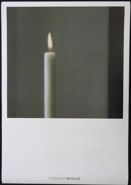 Gerhard Richter. Kerze. Fondation Beyeler, 2014 Kunstdruck