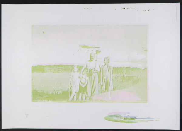 Gerhard Richter. Familie. Plakat, 2019