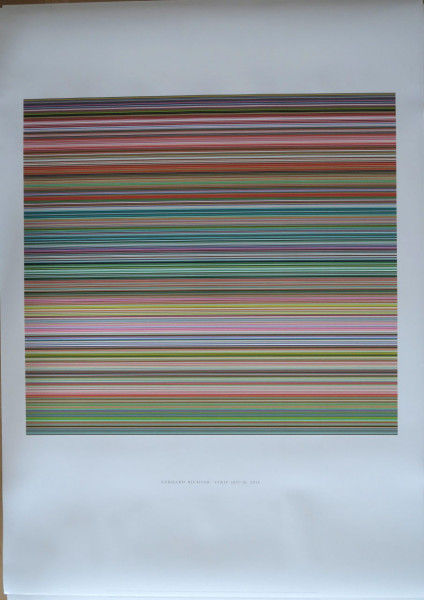 Gerhard Richter. STRIP (927-9) , 2012