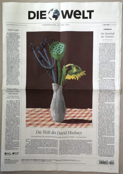 David Hockney. Die Welt. Künstlerausgabe, 20.05.2021