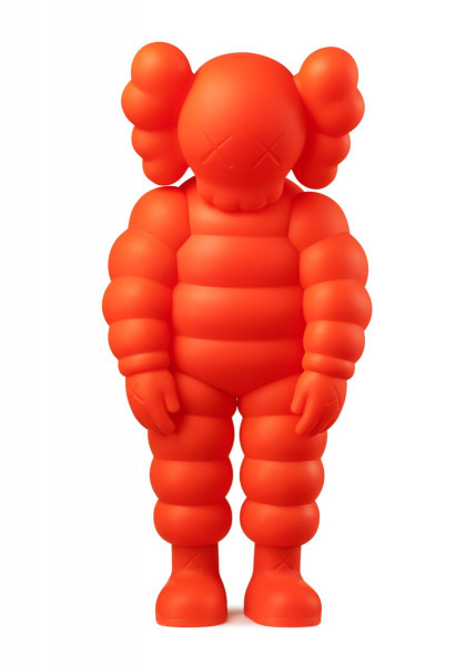 KAWS. WHAT PARTY, 2020 (Orange)