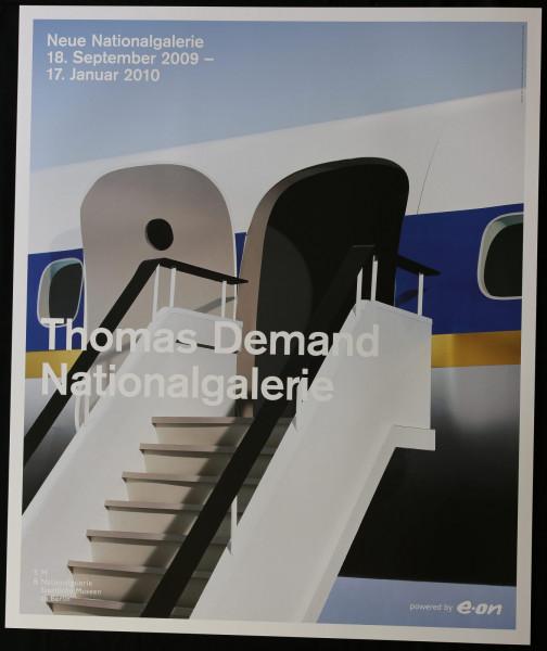 Thomas Demand Nationalgalerie. Ausstellungsplakat, 2009 (Gangway)