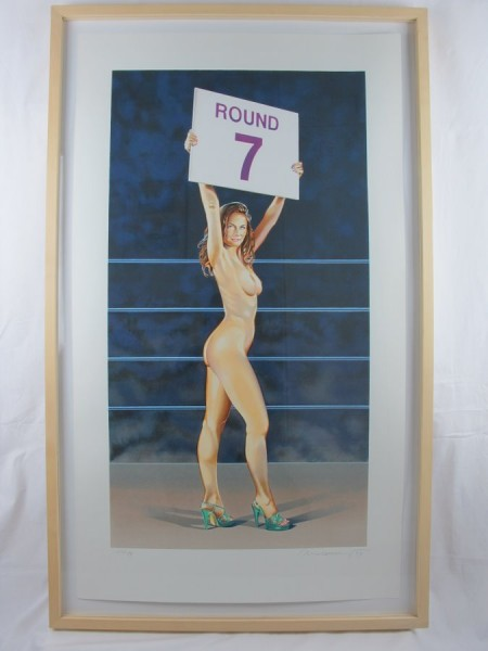 Mel Ramos. The Rounder., 1999