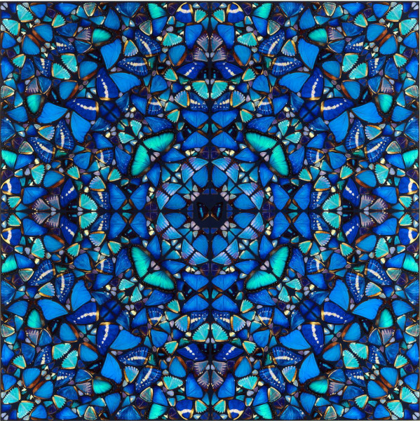 Damien Hirst. The Aspects. Patience H6-3, 2019