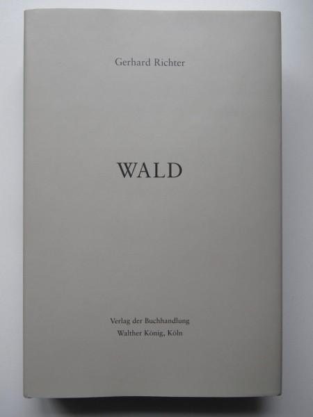 Gerhard Richter WALD, Künstlerbuch signiert