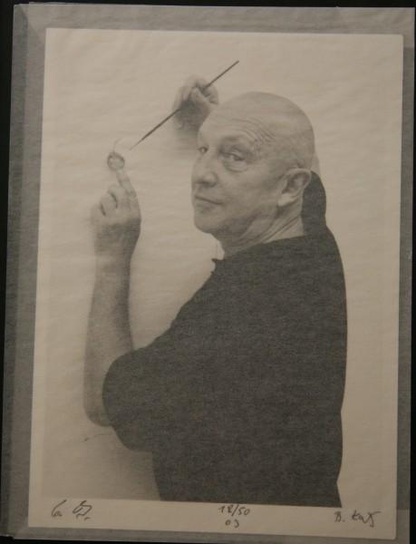 Benjamin Katz. Photokontakt: Georg Baselitz