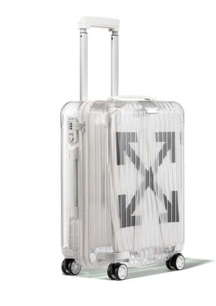 Virgil Abloh. Off-White ™ x Rimowa. Transparenter Koffer, 2018