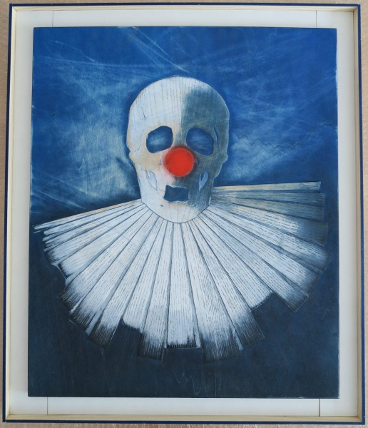 Robert Elfgen. Sad Clown, 2015