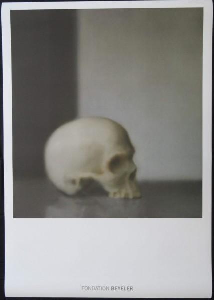 Gerhard Richter. Schädel. Fondation Beyeler, 2014 Kunstdruck