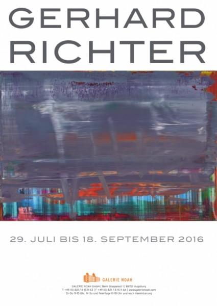 Gerhard Richter. Plakat Galerie Noah, 2016