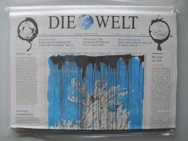Georg Baselitz. DIE WELT vom 1. Dezember 2010, eingeschweißt