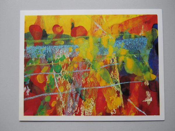 Gerhard Richter. Ausstellungseinladung, Krefeld, 2000, signiert