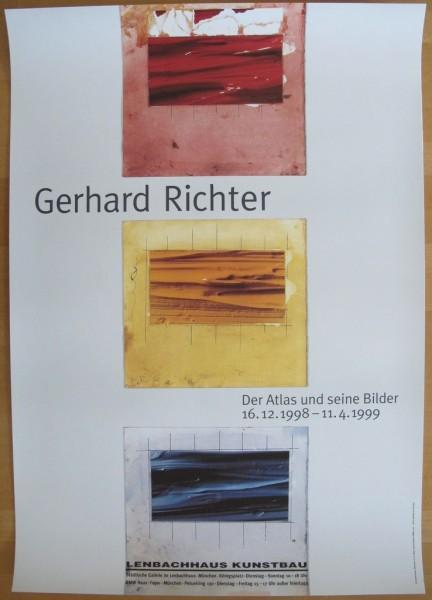 Gerhard Richter. Plakat Der Atlas und seine Bilder, 1998