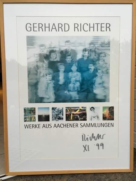 Gerhard Richter. WERKE AUS AACHENER SAMMLUNGEN, 1999 2 x signiert (Fehldruck)