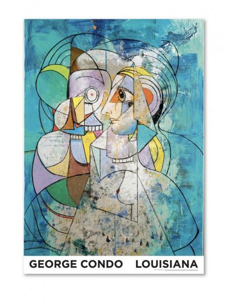 George Condo. Mythological Figures. Plakat, 2019