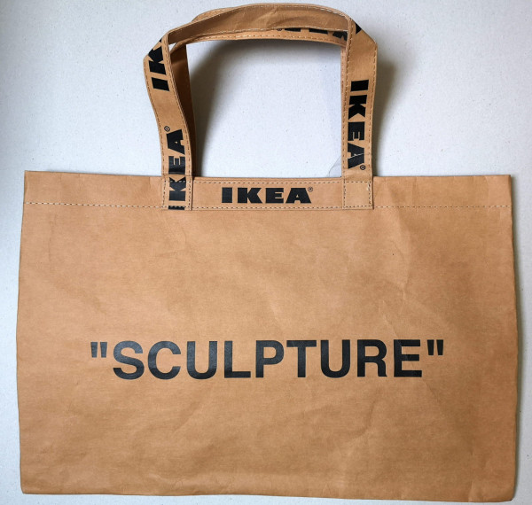 Virgil Abloh. Tasche IKEA Markerad, 2019 (gross)