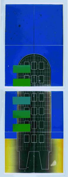 Benjamin Badock. Plattenbau – Utopia blue, 2008
