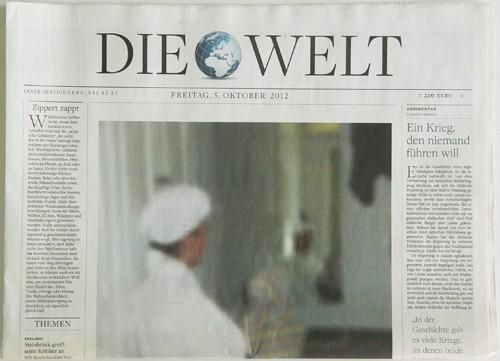 Gerhard Richter. DIE WELT vom 5. Oktober 2012