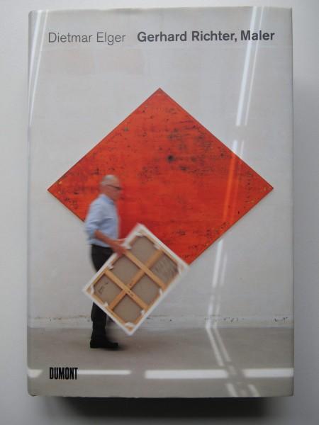Dietmar Elger.Gerhard Richter, Maler. Buch, signiert
