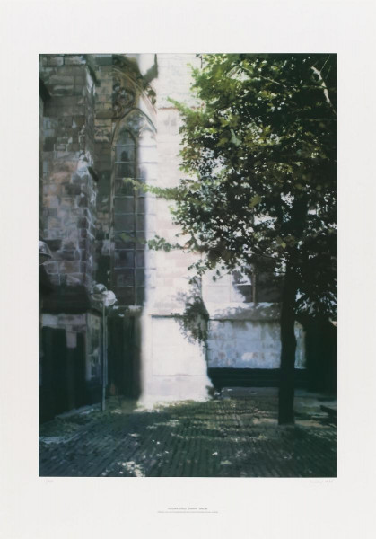Gerhard Richter. Domecke II, 1998 signiert