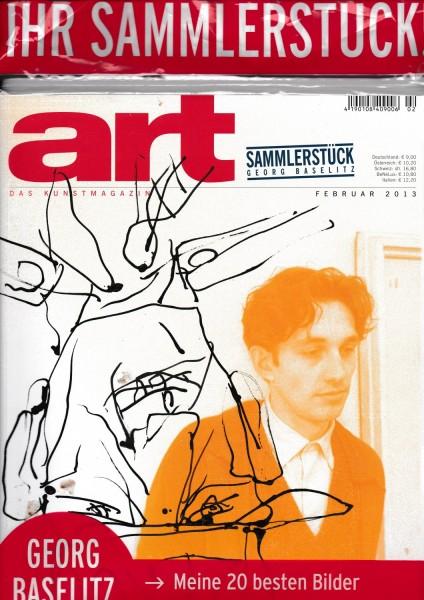 Georg Baselitz. ART 3/2013 Sammlerstück, Zeitschrift