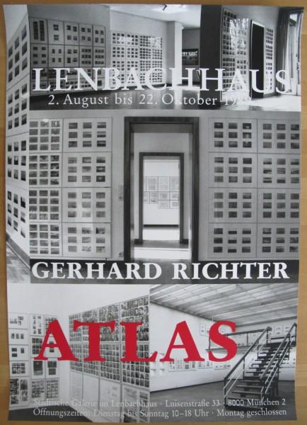 Gerhard Richter. Plakat ATLAS, 1989