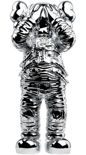 KAWS. Holiday Space Figure Silver, 2020