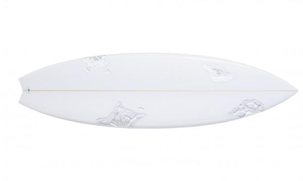 Daniel Arsham. Eroded Surfboard, 2021