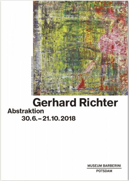 Gerhard Richter.Abstraktion, 2018 Plakat (Ausstellung)