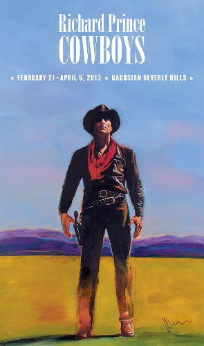 Richard Prince. Cowboys Poster, 2013. Poster